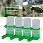 4PCS Pet Bird Parrot Cage Aviary Budgie Canary Water Drinker Clip Feeder Waterer