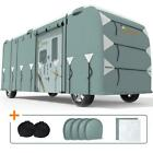 KING BIRD 30'-43' Class A RV Cover Motorhome Camper Waterproof Storage Cover US