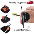 Archery Leather Archery Finger Tab For Recurve Bows Hunting Finger Protector
