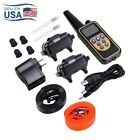Dog Training Collar Rechargeable Remote Shock Control Waterproof range 875 Yards