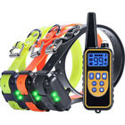 2600 FT Dog Training US Collar Rechargeable Remote Shock  PET Waterproof Trainer