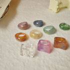 Women's Vintage Retro Resin Ring Acrylic Rings Party Jewelry One Size