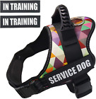 Dog Harness Training Adjustable Reflective No Pull/Choke Padded Vest Service