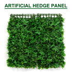 100 x 100cm Artificial Hedge Panel Fence Garden Wall Balcony Privacy Screening