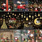 Christmas Xmas Removable Shop Window Stickers Art Decal Wall Home Decor New Ms