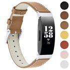 StrapsCo Leather Watch Band Strap for Fitbit Inspire 2