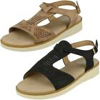 Down To Earth Ladies - Low Wedge Sandals