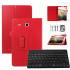 """Tablet Case Stand w/ Keyboard Pen Holder For Samsung Galaxy Tab E 8.0"""" T375/T377"""