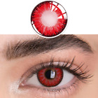 1 Pair Yearly Eye Color Contact Cosmetic Colorful Eyes Makeup Party Cosplay