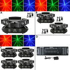 LED Spider Beam Moving Head Stage Light DMX512 RGB 3IN1 60W or 192 CH Controller