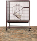 Prevue Rat and Chinchilla Cage 495 Earthtone Dusted Rose, 31 x 20.5 x 40 IN..