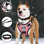 TIANYAO Dog Harness No-Pull Dog Vest Set Reflective Adjustable Oxford Material P