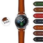 StrapsCo Hand-Stitched Vintage Faded Leather Strap for Samsung Galaxy Watch 3