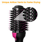 Free shipping 2In1 One Step Hair Dryer and Volumizer Brush Straightening Curling