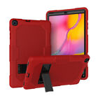 For Samsung Tab A 10.1 T510 2019 Rubber Plastic Armor Kids Shockproof Stand Case