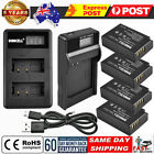 2.0AH LP-E17 Battery/LCD Charger For Canon EOS 200D M3 M6 750D 800D Rebel T6i BN
