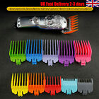 UK Hair Clipper Set Limit Comb Guide Trimmer Guards Attachment Barber for Wahl