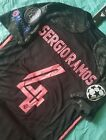 Sergio Ramos #4 Real Madrid 2020/21 3rd Away Black Jersey