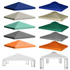 Garden Gazebo Top Cover Roof Replacement Water-proof Tent Canopy 1/2-Tier New