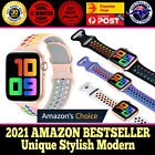 New Sport Silicone Strap Band For Apple Watch Series 6 5 4 38/40/42/44mm Rainbow