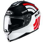 HJC C70 Curves Red Full Face Helmet