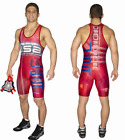 Cliff Keen USA Freestyle Red Singlet
