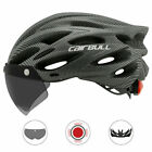 Cairbull Adult Sport Road Mountain Bike Cycling Helmets Visor Goggles&Taill UK