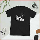 Mens The Golffather Golf Father Funny Golfing Fathers Day T-Shirt