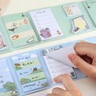 Kawaii Cat Foldable Memo Pad Cartoon Sticky Notes Bookmark Page Index Tabs AAA