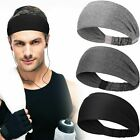 Women & Men Non Slip Sweatbands Headbands Outdoor Fitness Running Yoga Stretch