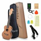 Apelila 21 inch Soprano Ukulele Acoustic Mini Guitar Musical Instrument with Bag