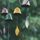 Japanese Cast Iron Wind Bell Leaf Retro Japanese Temple Hanging Wind Chimes