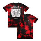 """Lurking Class by Sketchy Tank """"Protect"""" Short Sleeve Tee (Red Tie Dye) T-Shirt"""