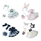 Party Princess Dress Gowns Clothes for 30cm Girl Doll 1/6 BJD Dolls Costume