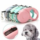 Clip Automatic Long Strong Pet Cord Dog Rope Leash Leads Retractable Leashes