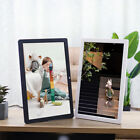Digital Photo Frame Share Picture Video Player 17 Inch HD Touch Screen W/Remote