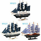 Model Sailing Ship Ornament Office Home Mediterranean Style Accessories