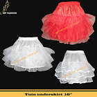 "16"" Lady 50's Underskirt Rock n' Roll Petticoat Tutu UK"