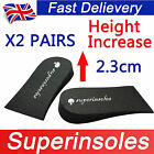 Superinsole 2 Pairs Unisex Foam Heel Lift Pad shoe insoles-increase height