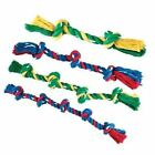 Tough Strong Large Puppy Dog Rope Tug Throw Fetch Toy