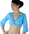 New Sexy belly dance costume Blouse Top Bra 9 Colours