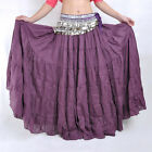 New Belly Dance Costume Tribal Gypsy Bohemia 360° Big Skirt Dress 7 Colors