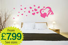 wall stickers, wall deco, wall art, Hearts and Rings