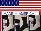 12 Pr Men Big & Tall extra large Sock size 13-15 Athletic Cotton crew Socks