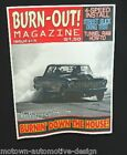 BURN-OUT MAGAZINE T-SHIRT BOX NOVA CHEVY II DRAGSTRIP