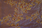 Embroided Royal pure silk curtain fabric-MUNICH