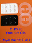 New Bra Extenders 2 Hook Choose Colours Free Bra Clip