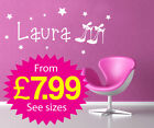 Wall Stickers, kids, Personalised Names - Girls Shoes