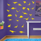 Dinosaur Wall stickers, Childrens Wall Stickers, Set