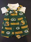NFL Green Bay Packers Baby Infant Toddler Boys Jumper Overalls  YOU PICK SIZE